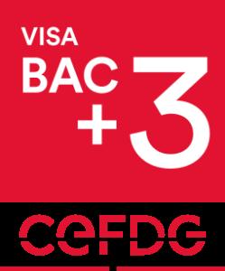 Formation certifié CEFDG Visa bac + 3